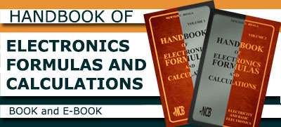 Handbook of Electronics Formulas and Calculations - Volume 1