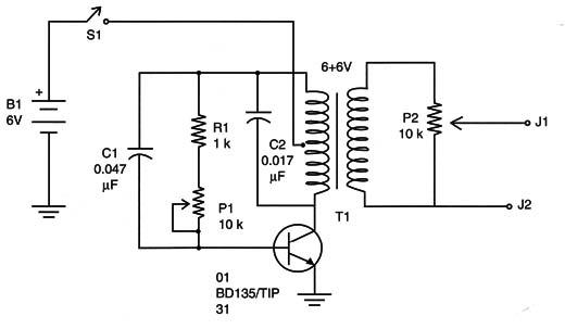 high voltage generator using one transistor  art199e