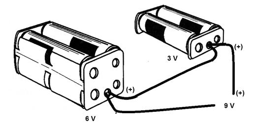 Figure 1 - Powering with 9 V