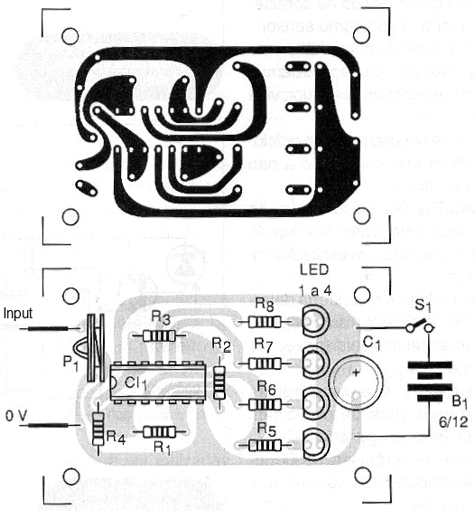 Figure 3 - Printed circuit board for assembly.