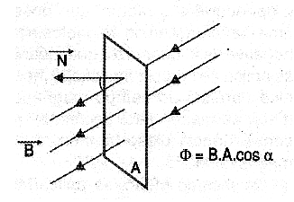 Figure 1 - Definition of magnetic flux