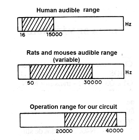 Figure 1 - Audible and ultrasound range