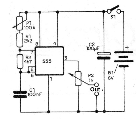 Figure 7 - Oscillator for adjustment