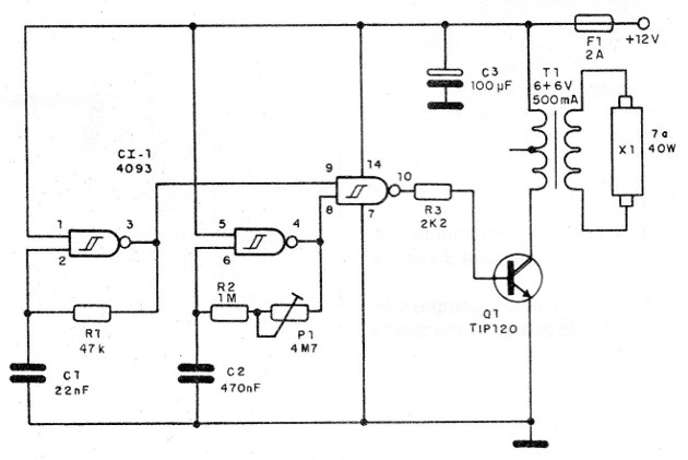 Figure 3 – Blinker inverter diagram