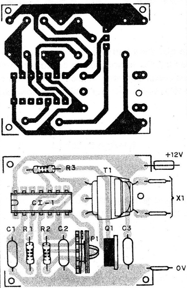 Figure 4 - Mounting board