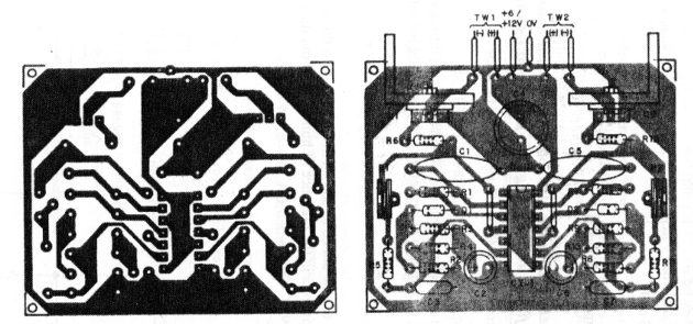 Figure 4 - Printed circuit board for mounting
