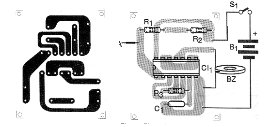 Figure 2 - Printed circuit board for mounting