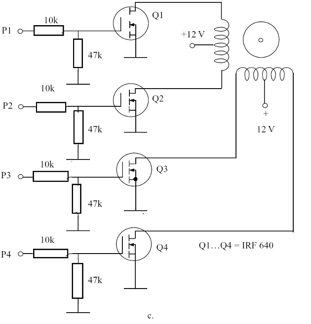 Using Power FETs - current according the transistor