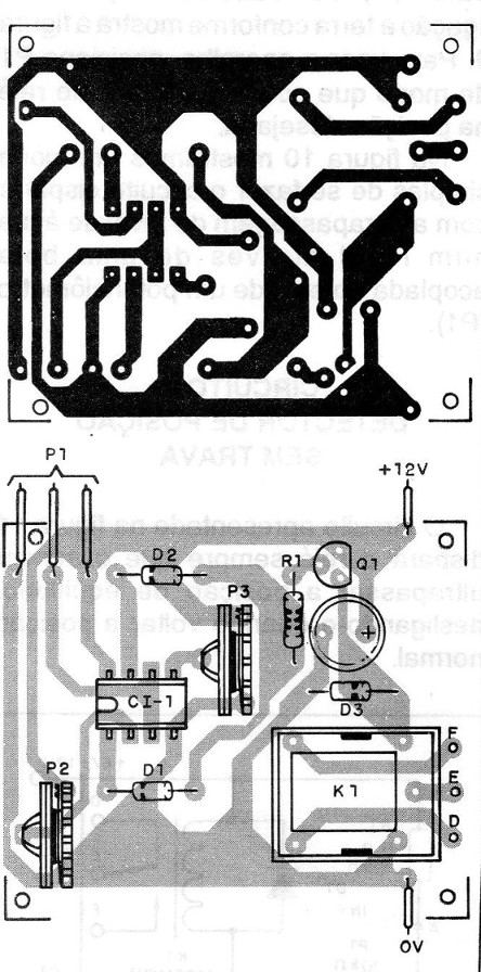 Figure 16 - Printed circuit board for the assembly