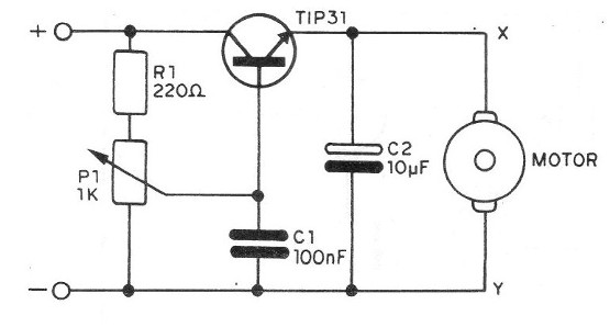 Figure 8 - Control by the Transistor