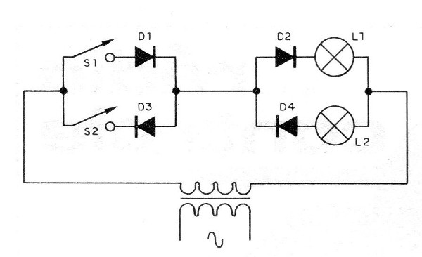 Figure 2 - Control of two lamps