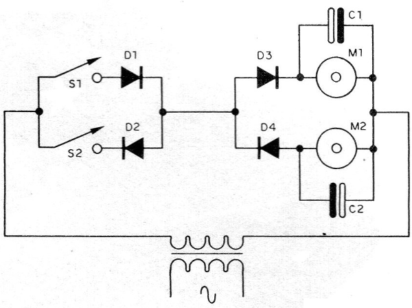 Figure 3 - Controlling two motors