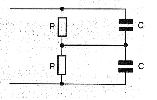 Figure 9 - Use of resistors in the voltage division.