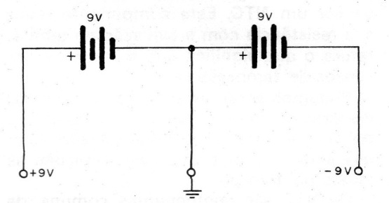 Figure 3 - 9 V symmetrical power source
