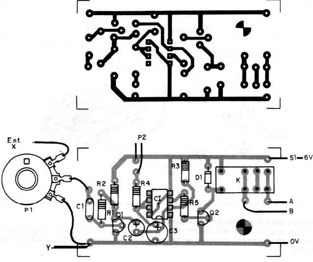 Figure 2 – Printed circuit board for the vox