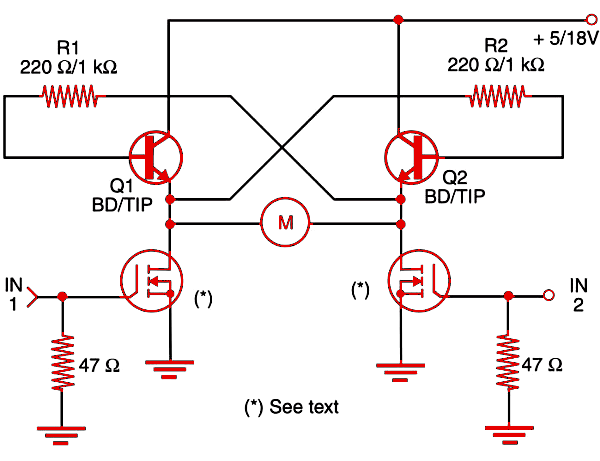 Figure 1    : Combined bipolar + power MOSFET