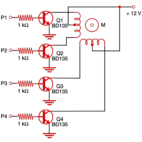 Figure 1    Standard shield circuit using bipolar transistors.