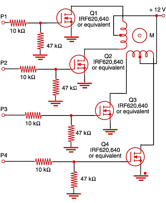 Figure 1    Shield using power MOSFETs