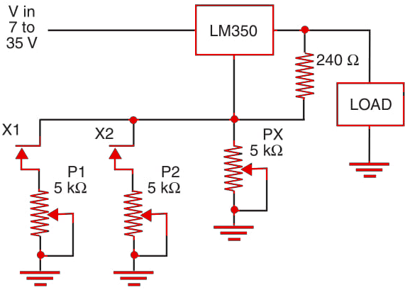 Figure 1   Multi-voltage control