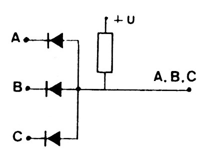 Figure 1- AND gate with diodes