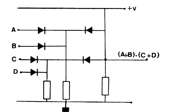 Figure 4 - OR-AND function with diodes