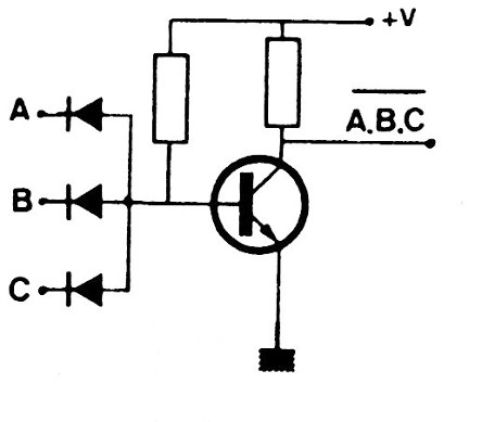 Figure 5 - NAND gate with diodes