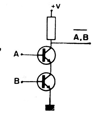 Figure 6 - NAND gate with two transistors