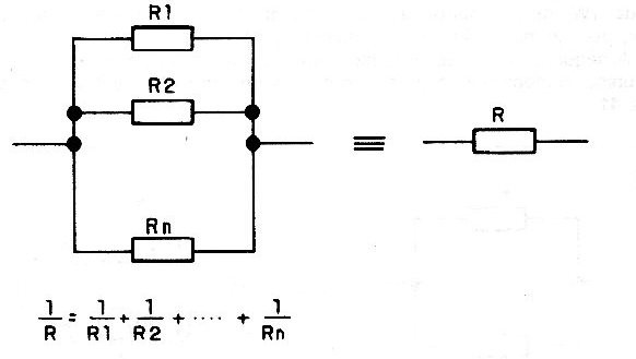 Figure 7 - Combining more than two resistors.