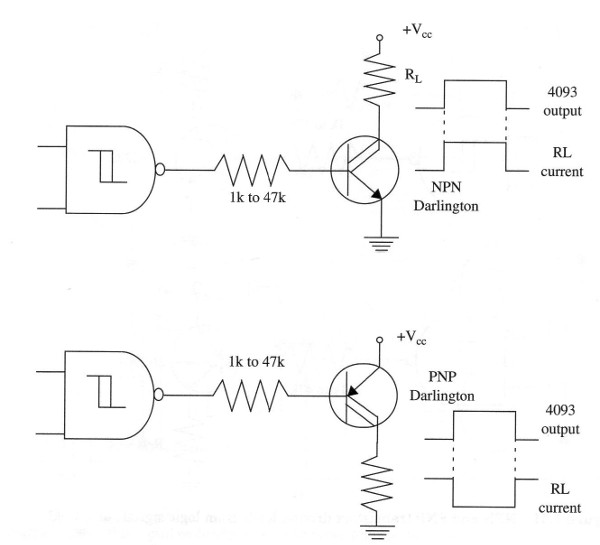 Figure 9 –Darlington transistor can be used to drive heavy loads