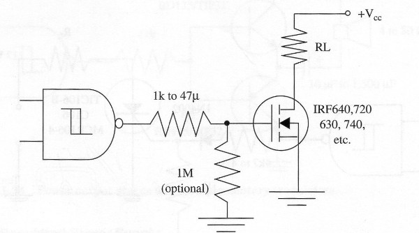 Figure 14 – Using power MOSFETs