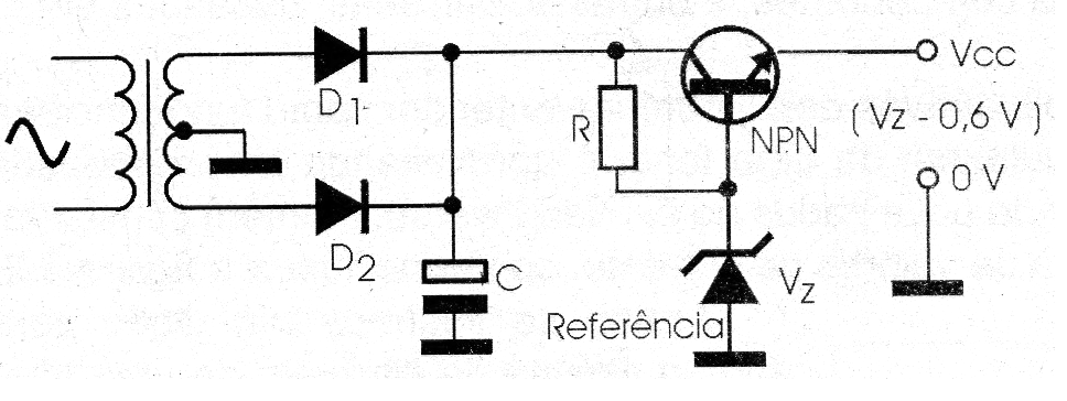 Figure 4 - Using a transistor to control the current