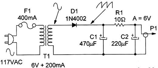 Figure 1 – A DC power supply
