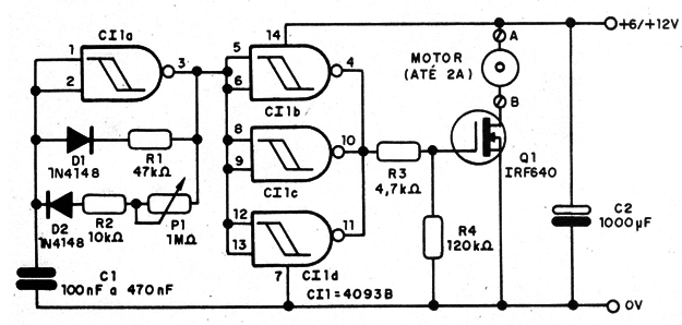 pwm basic control using the 4093 cmos ic  mec006e