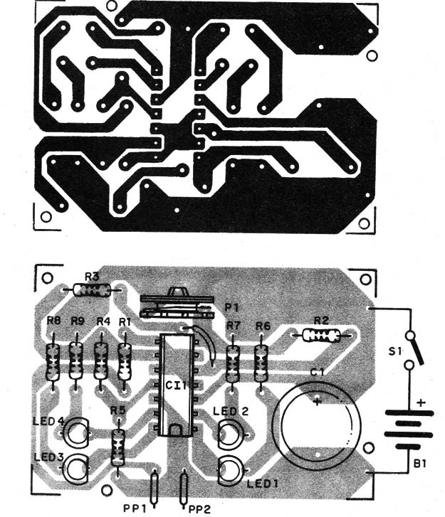 Figure 2 – Component placement on a PCB