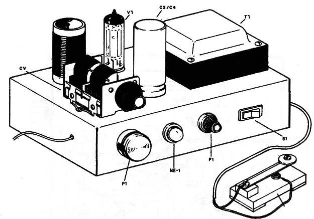 High Power Tube Cw Shortwave Transmitter Tel024e