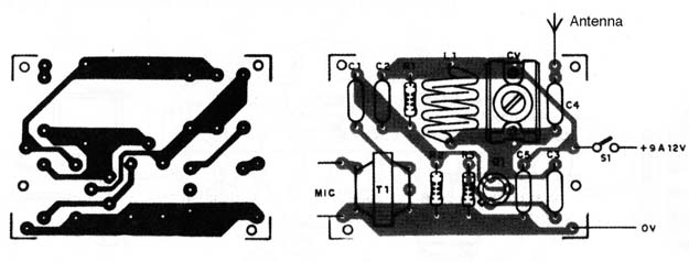 Figure 6 – PCB for the project