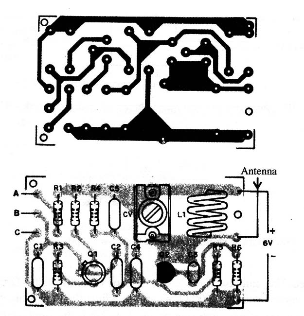 Figure 3 – PCB for the project