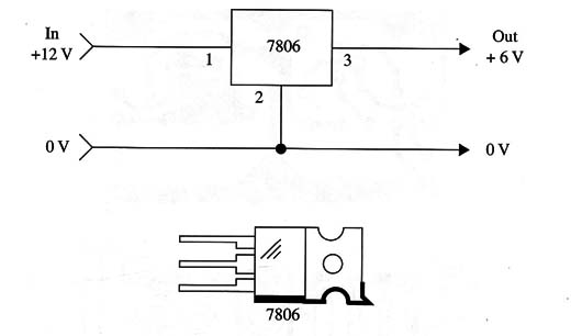 Figure 4 – Voltage reducer 12 to 6 V